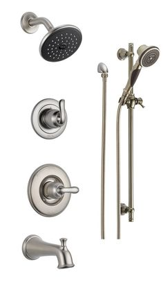 View The Delta DSS Linden 1404 Monitor 14 Series Pressure Balanced Tub And  Shower