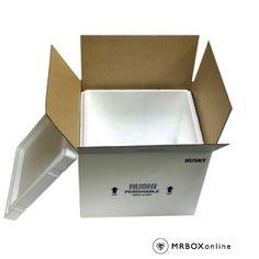 16x13x12.5 Husky Styrofoam Coolers | Foam Cooler Boxes | MrBoxOnline