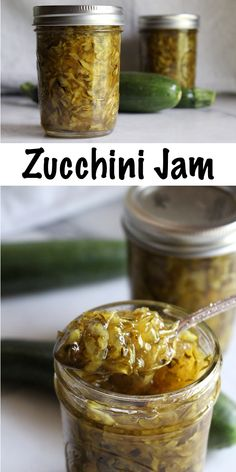 Zucchini marmalade has got to be the most creative way to preserve zucchini! Zucchini Jam, Canned Zucchini, Zucchini Relish, Zucchini Pickles, Can You Freeze Zucchini, Jam Recipes, Canning Recipes, Cooker Recipes, Preserving Zucchini