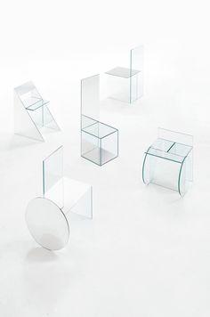 The Coolest Glass Chairs Since Kuramata                                                                                                                                                                                 More