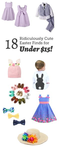 Hot Find: 18 Ridiculously Cute Easter Pieces for Under $15! Newborn Girl Dresses, Baby Dress, Girls Dresses, Toddler Fashion, Kids Fashion, Fashion Outfits, Cute Kids, Cute Babies, Easter Outfit For Girls