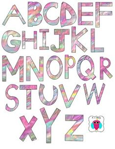 Freebie-  This is a set of Uppercase Letter Clip Art that was saved in 300 DPI PNG format.  They can be used for commercial use.  Please include the enclosed credit label.   font credit: kevinandamanda.com