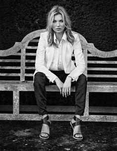 Kate Moss for Rag & Bone Spring Summer 2013