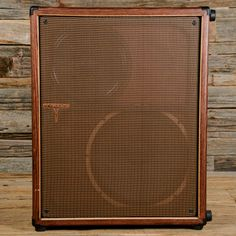 Tyrant Tone 1x12/1x15 Guitar Cab Mahogany w/Vintage Oxblood Grille USED