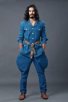 kalamkari safari suit by sagar tenali.