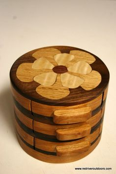 Small Jewelry Box by RidgeRunnerWoodworks on Etsy, $150.00