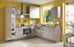 Wohnideen Küche Wände wohnideen küche funktionale küchenmöbel und gelbe küchenwände