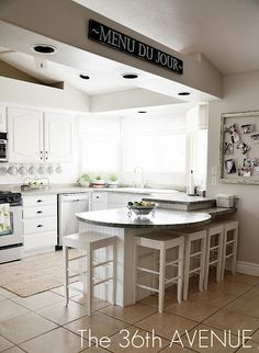 Our White Kitchen Reveal   The 36th AVENUE