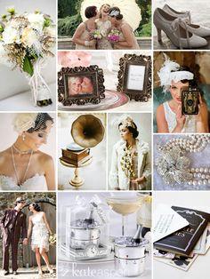 Roaring 20s Wedding Inspiration Kate Aspen Http Bridalresources Theaspens