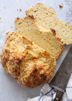 Cheesy Irish Soda Bread | Completely Delicious