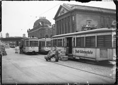 Berlin-Mitte September 1944 auf der Museuminsel