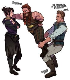 Alistair trolling Morrigan with Oghren Dragon Age Comics, Solas Dragon Age, Dragon Age Funny, Dragon Age Games, Dragon Age 2, Dragon Age Origins, Dragon Age Inquisition, Game Character, Character Design