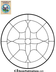★ Stained Glass Patterns for FREE ★ glass pattern 268 ★