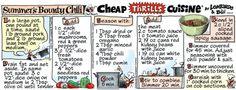 Cheap Thrills Cuisine Comic Strip, September 21, 2016     on GoComics.com