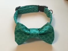 A personal favorite from my Etsy shop https://www.etsy.com/listing/225060440/teal-blue-green-dog-collar