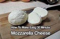 How to Make Easy Thirty Minute Mozzarella Cheese