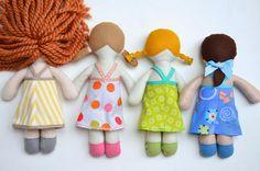 ikat bag: Act 3B: Fairytale Doll Dress Workshop