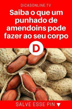 Amendoin beneficios | Sabe o que um punhado de amendoins pode fazer ao seu corpo? Vai ficar impressionado!