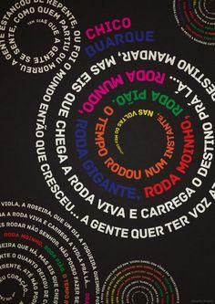 Cartazes Tipográficos Musicais | Criatives | Blog Design, Inspirações, Tutoriais, Web Design