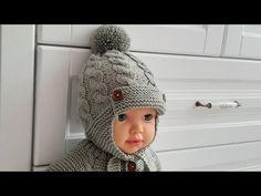 Crochet Baby Sweaters, Crochet Hats, Baby Knitting Patterns, Crochet Patterns, Baby Hats, Knitting Projects, Baby Dress, Pilot, Winter Hats