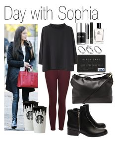 """• Day with Sophia"" by dianasf ❤ liked on Polyvore featuring NARS Cosmetics, Nails Inc., Band of Outsiders, Topshop, Bobbi Brown Cosmetics, Acne Studios, 3.1 Phillip Lim, Pilgrim, Mulberry and OneDirection"
