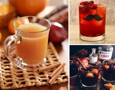 This Thanksgiving, try mixing up your cocktail list with some celebratory drinks inspired by the most delicious fall flavors. From a Pumpkin Whoopie Pie Martini to German Mulled Wine and cranberry cocktails, we've got the best recipes sure to impress...