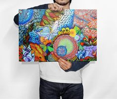 Poster Floresta - Artista Vanessa Zanini