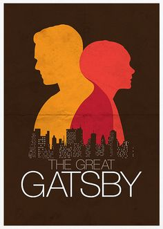 The Great Gatsby Movie Poster A3 by Posterinspired on Etsy