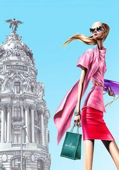 .Arturo Elena Fashion illustration