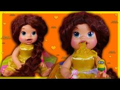 9d64eae231 Belle Beauty and the Beast Custom Baby Alive Eats Play-Doh Poops Surpris.