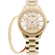 12fb3994311 Relógio Technos Feminino Essence Dourado F03101AA K4W