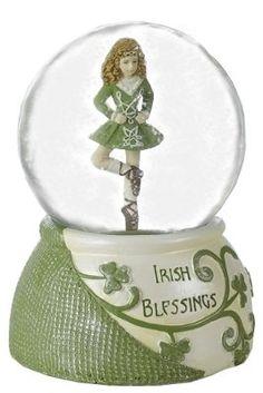 irish snow globe