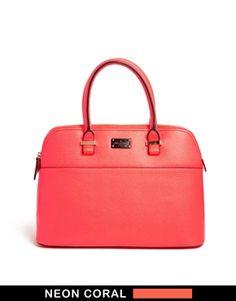 Bild 1 von Paul's Boutique – Maisy – Tasche in Neon-Korallenrot