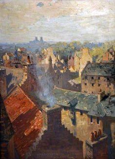 The Dean, Edinburgh, Summer Morning, 1920 by James Paterson (1854-1932)