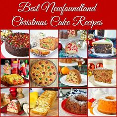 Best Newfoundland Christmas Cake Recipes – a collection of some favourite recipes from my childhood and some new twists on tried and true traditional fruitcake. Best Newfoundland Christmas Cake Recipes I come from a. Rock Recipes, Vegan Recipes, Best Christmas Cake Recipe, Cookie Recipes, Dessert Recipes, Baking Recipes, Delicious Desserts, Yummy Food, Christmas Baking