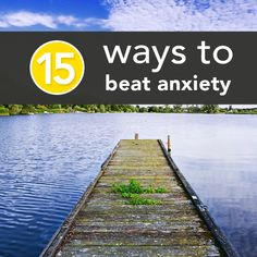 tips to help get over the anxiety of everyday life....These would work well for any type if stress!