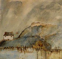 'The house by the Tarn' by Louise O'Hara of DrawntoStitch www.drawntostitch.com