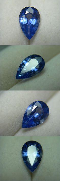 Natural Sapphires 4644: Blue Ceylon Sapphire Rare Beautiful Gem Pear Cut Gemstone Genuine Sri Lanka -> BUY IT NOW ONLY: $525 on eBay!