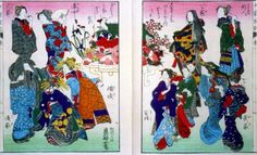 "Oei created illustrations for the book ""Illustrated Manual for Women"" just shorlty before her father's death in 1849."
