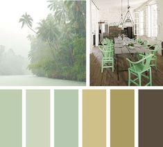 Verde selvático Pantone Verde, Visual Aesthetics, Tropical, Colour Board, Happy Colors, Vintage Colors, Pantone Color, Color Inspiration, Color Schemes