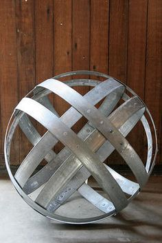 wine barrel hoops art - Google Search