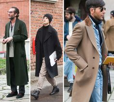 #StreetStyle: Great Coats in Milan