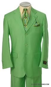The color green symbolizes growth, freshness and harmony. On the thirteenth aniverasy of the circus Chandresh had all his crew members wear green suits instead of the usual black to add a spice to things while brightnening up the night changing the mood with a feeling of newness and delight.