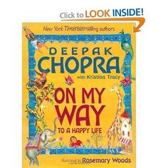 "Deepak Chopra ""On My Way to a Happy Life"" $10"