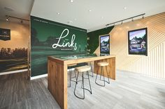 The Links by Infinity Properties - Free Agency Creative Sales Center, Centre, Print Design, Graphic Design, Hospital Design, Vancouver, Signage, Infinity, Environment