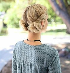 Bride double bans hairstyle