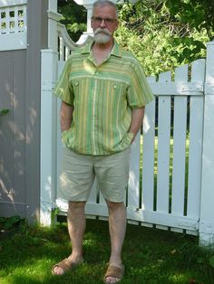 A pair of linen Jeds for the summer: The Japanese Pattern Challenge