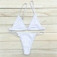 2016 Sexy Women Swimsuit Micro Bikini Set Bathing Suits With Halter Strap Swimwear Brazilian bottom Monokini