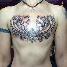 Makeup, Beauty, Hair & Skin | 15 Mastectomy Tattoos That Celebrate Scars in a Beautiful Way | POPSUGAR Beauty