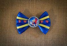 Supergirl Hair Bow